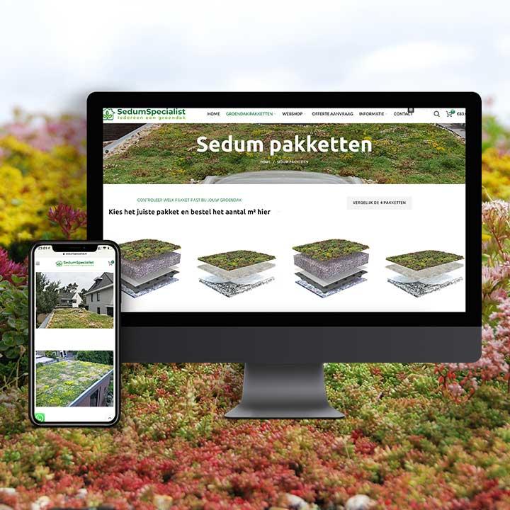 Nieuwe website SedumSpecialist
